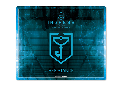 INGRESS/INGRESS THE ANIMATION/INGRESS THE ANIMATION マウスパッド レジスタンス