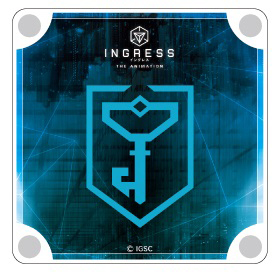 INGRESS/INGRESS THE ANIMATION/INGRESS THE ANIMATION アクリルコースター レジスタンス