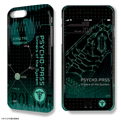 PSYCHO-PASS -サイコパス-/PSYCHO-PASS サイコパス Sinners of the System/デザジャケット PSYCHO-PASS Sinners of the System iPhone 7 Plus/8 Plusケース&保護シート デザイン01(モチーフ/A)